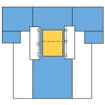 Cardiovascular Drape, 254 x 381 cm, Case/10